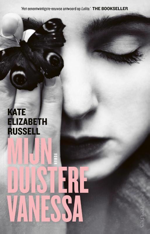 De voorkant van het boek met de titel : Mijn duistere Vanessa