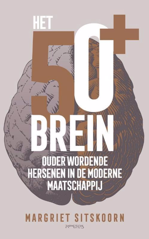 De voorkant van het boek met de titel : Het 50+ brein