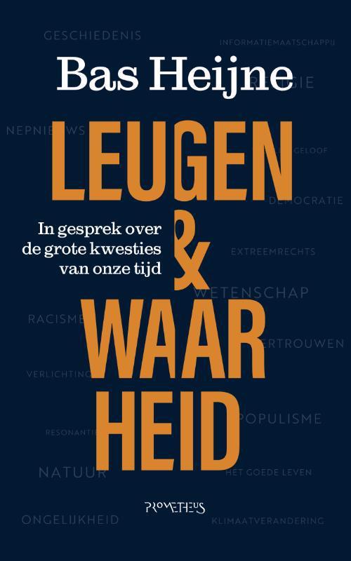 De voorkant van het boek met de titel : Leugen & waarheid
