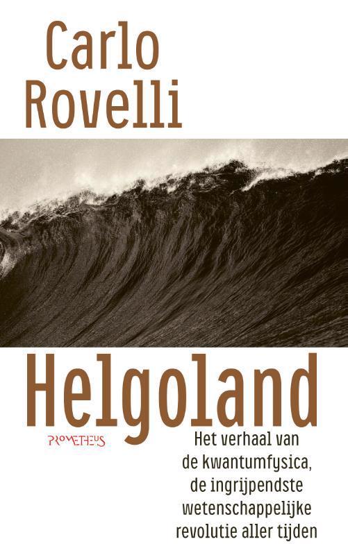 De voorkant van het boek met de titel : Helgoland