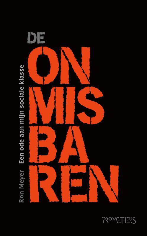 De voorkant van het boek met de titel : De onmisbaren