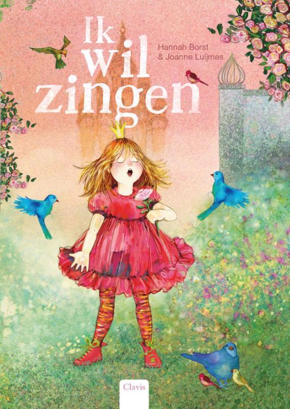 De voorkant van het boek met de titel : Ik wil zingen
