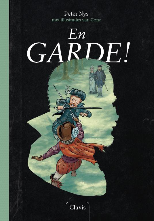 De voorkant van het boek met de titel : En garde!