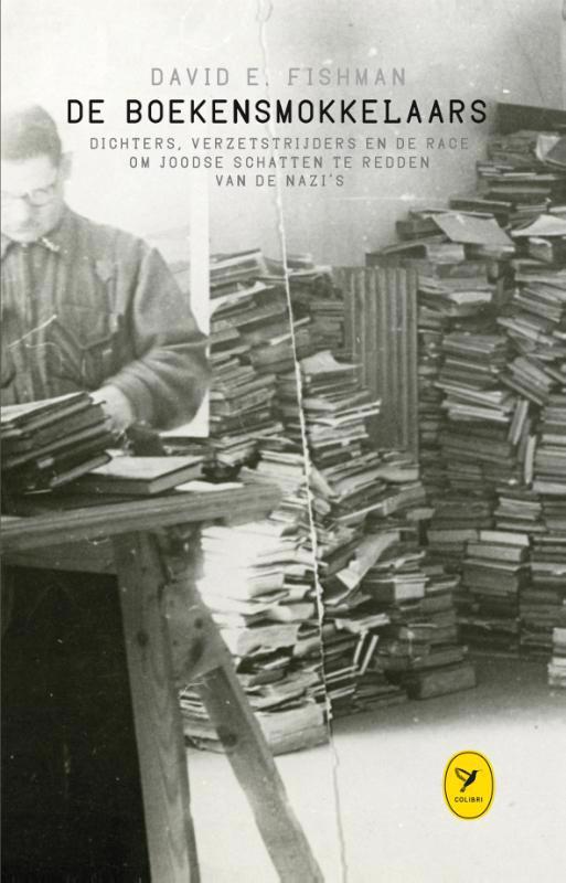 De voorkant van het boek met de titel : De boekensmokkelaars