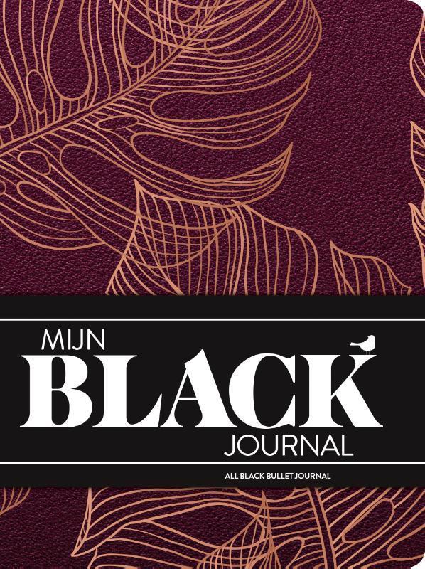 De voorkant van het boek met de titel : Mijn Black Journal