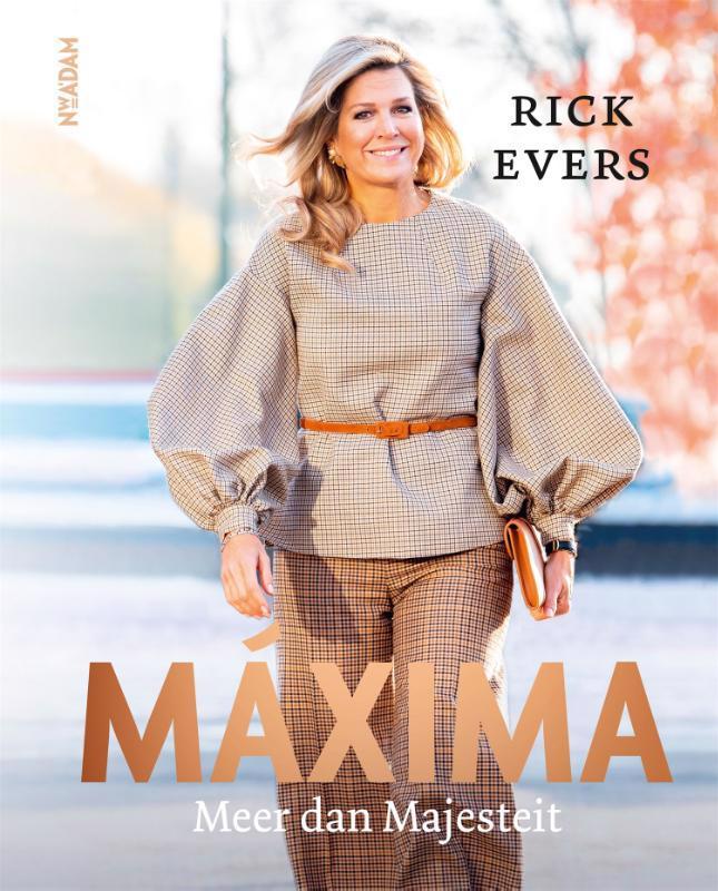 De voorkant van het boek met de titel : Maxima