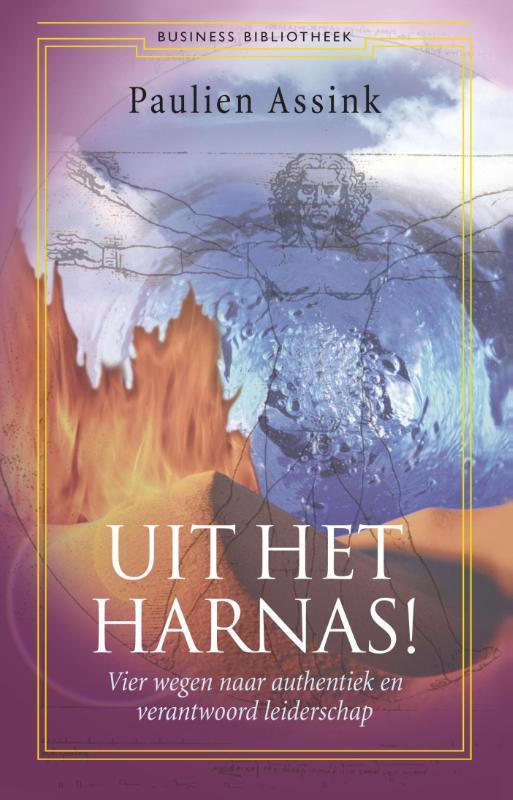 De voorkant van het boek met de titel : Uit het harnas!.