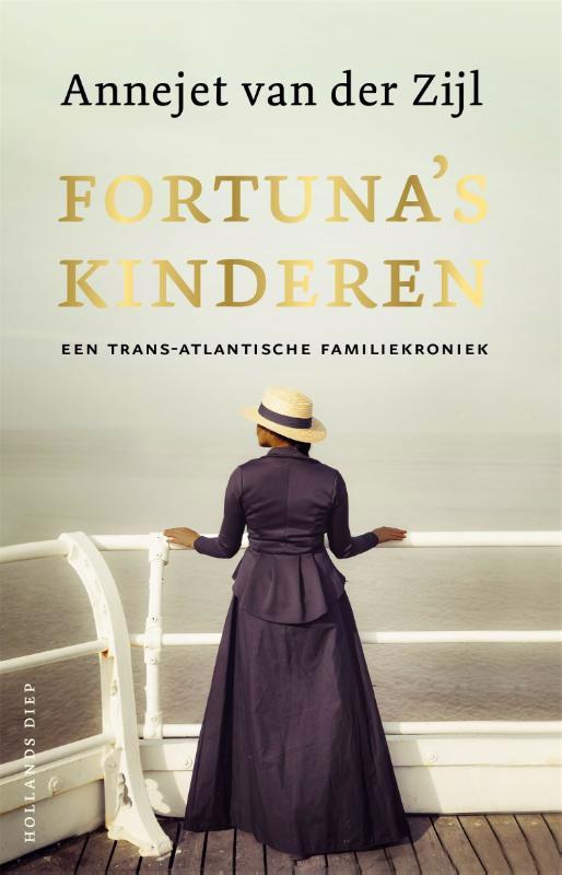 De voorkant van het boek met de titel : Fortuna's kinderen