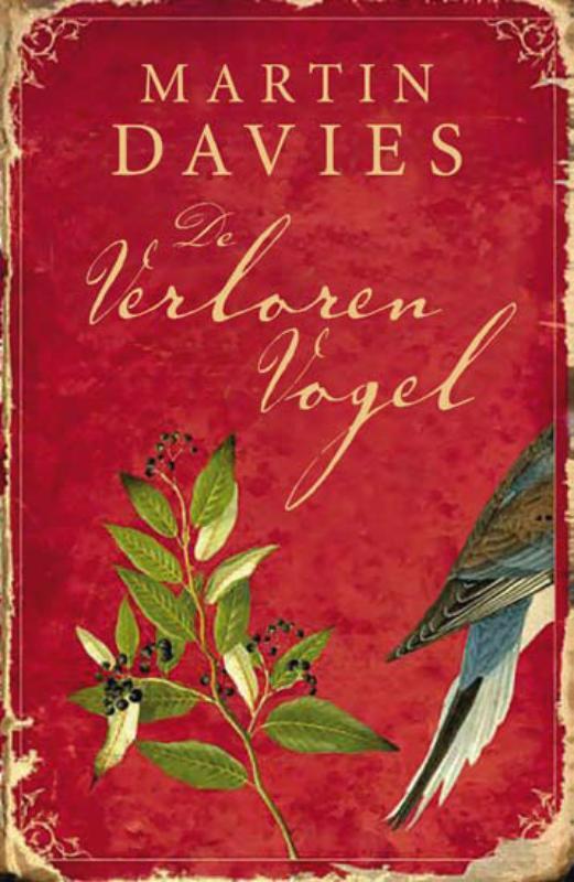 De voorkant van het boek met de titel : De verloren vogel