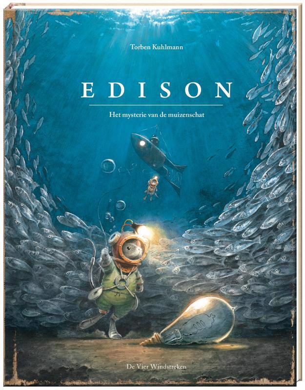 De voorkant van het boek met de titel : Edison