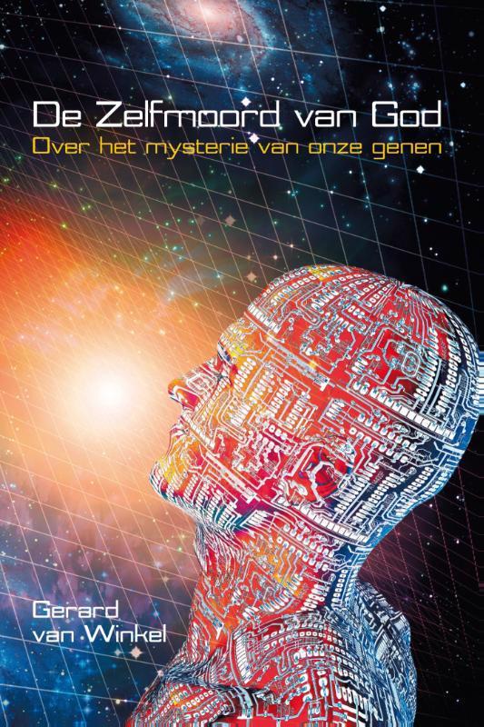 De voorkant van het boek met de titel : De zelfmoord van God