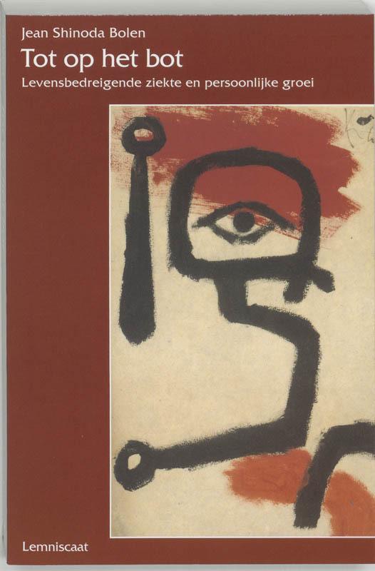 De voorkant van het boek met de titel : Tot op het bot