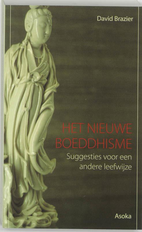 De voorkant van het boek met de titel : Het nieuwe boeddhisme