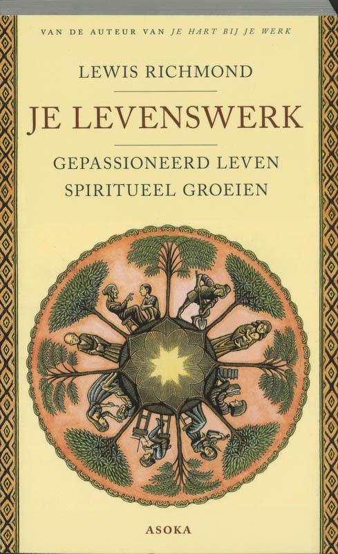 De voorkant van het boek met de titel : Je levenswerk