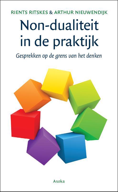 De voorkant van het boek met de titel : Non-dualiteit in de praktijk