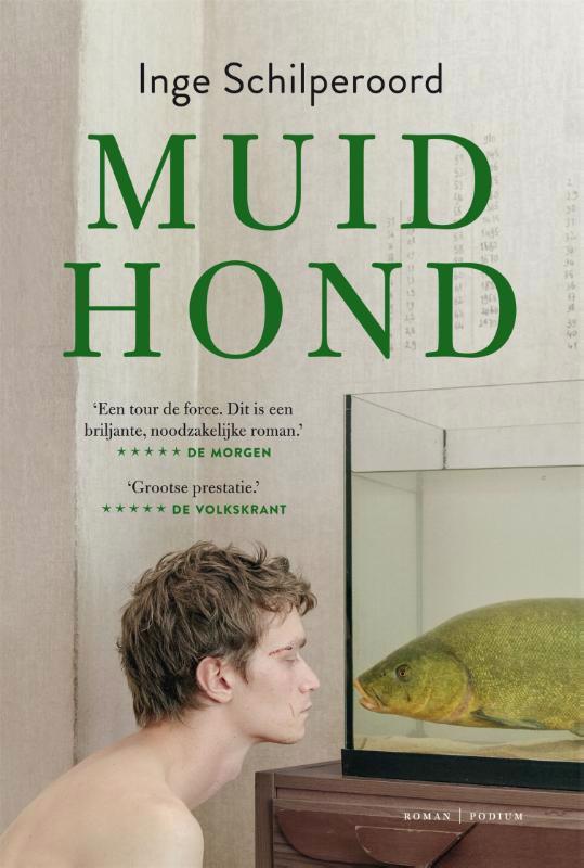 De voorkant van het boek met de titel : Muidhond