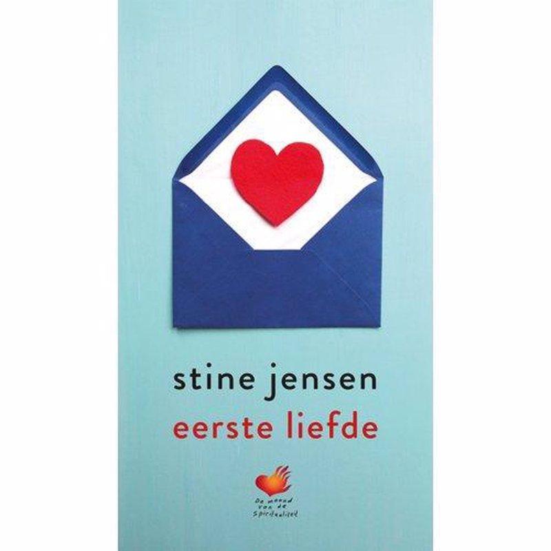 De voorkant van het boek met de titel : Eerste liefde