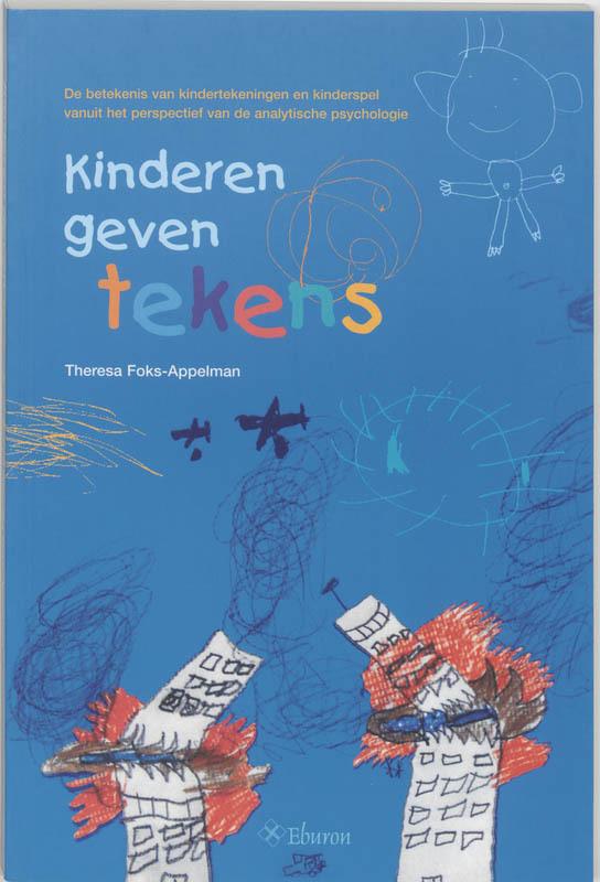 De voorkant van het boek met de titel : Kinderen geven tekens