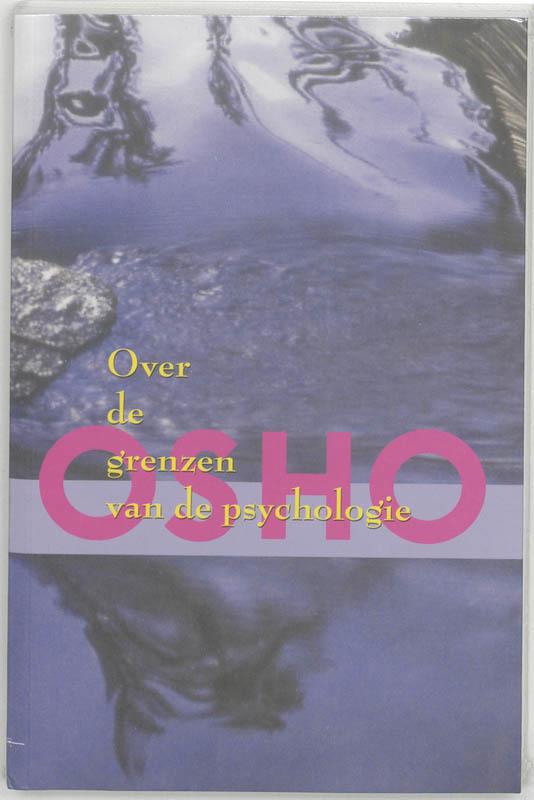 De voorkant van het boek met de titel : Over de grenzen van de psychologie