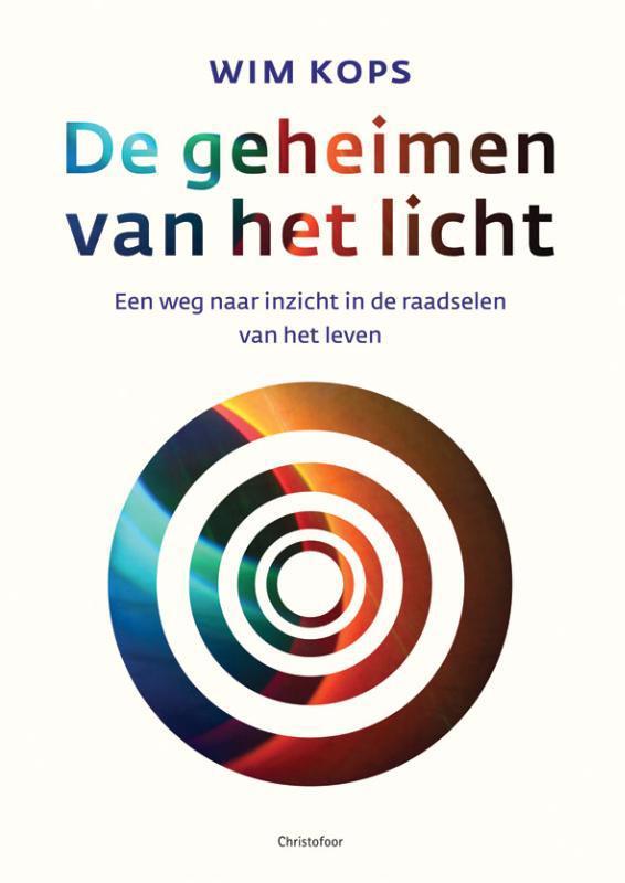 De voorkant van het boek met de titel : De geheimen van het licht