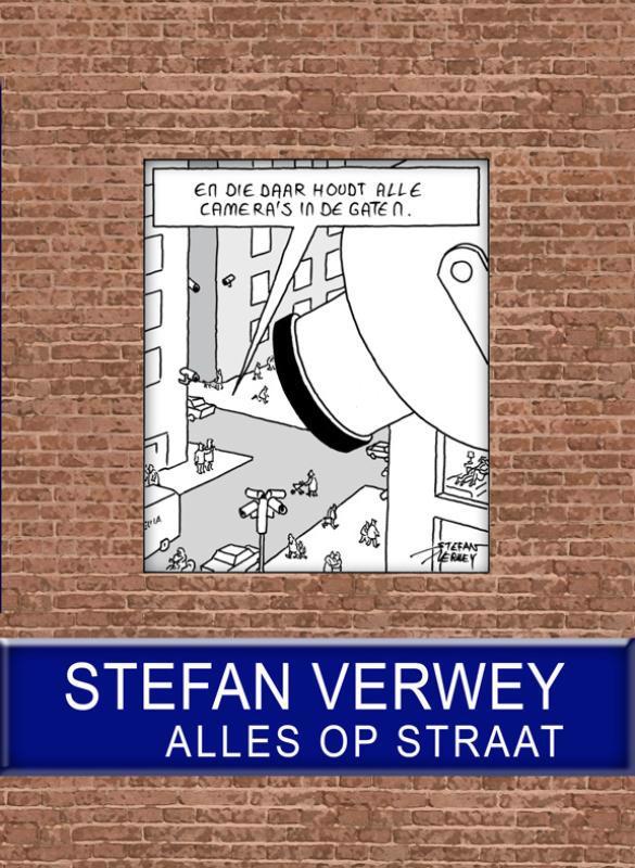 De voorkant van het boek met de titel : Alles op straat