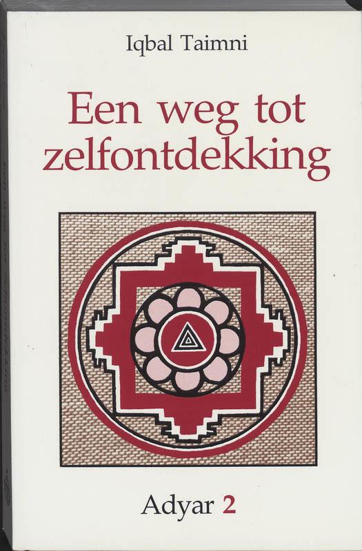 De voorkant van het boek met de titel : Een weg tot zelfontdekking