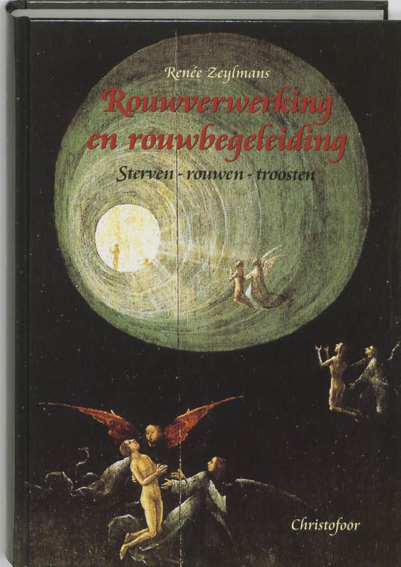 De voorkant van het boek met de titel : Rouwverwerking en rouwbegeleiding