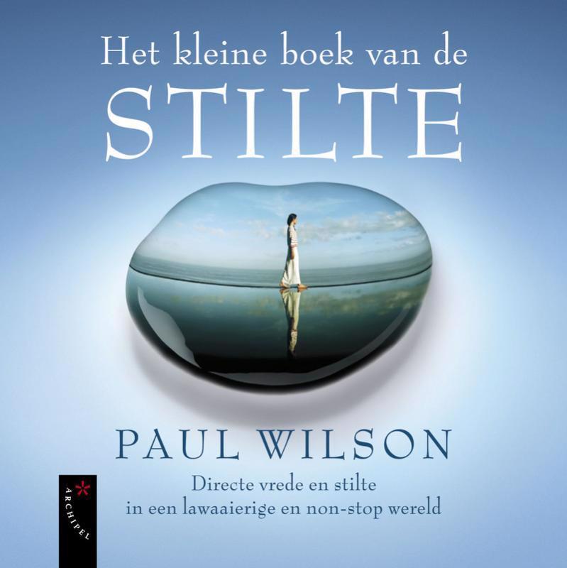 De voorkant van het boek met de titel : Het kleine boek van de stilte