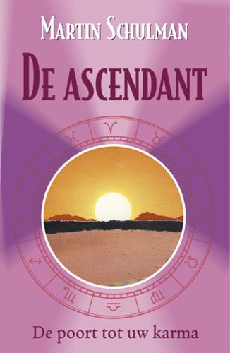 De voorkant van het boek met de titel : De ascendant