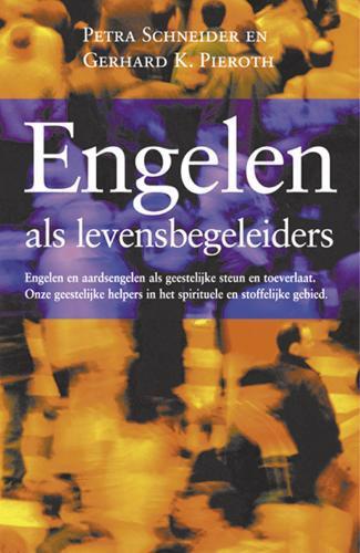 De voorkant van het boek met de titel : Engelen als levensbegeleiders