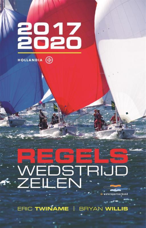 De voorkant van het boek met de titel : Regels wedstrijdzeilen 2017-2020