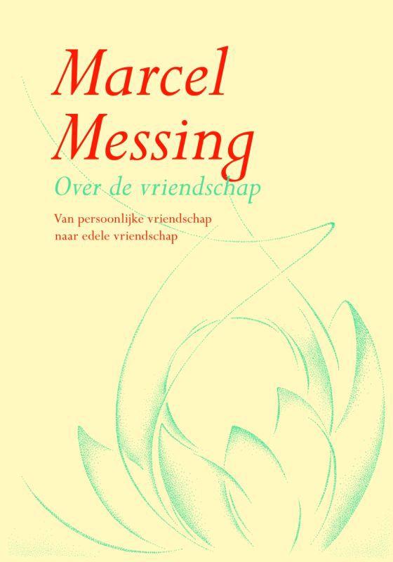 De voorkant van het boek met de titel : Over de vriendschap