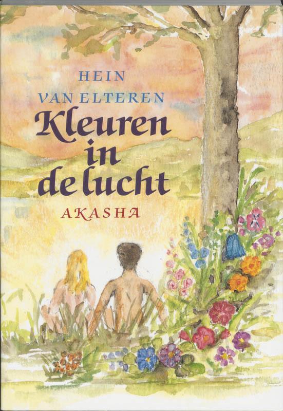 De voorkant van het boek met de titel : Kleuren in de lucht