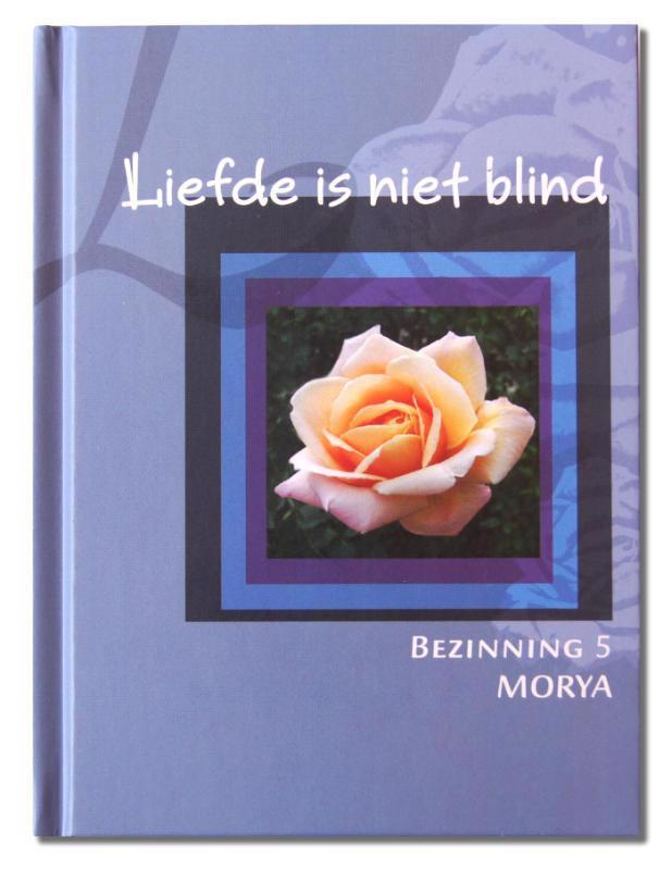 De voorkant van het boek met de titel : Liefde is niet blind