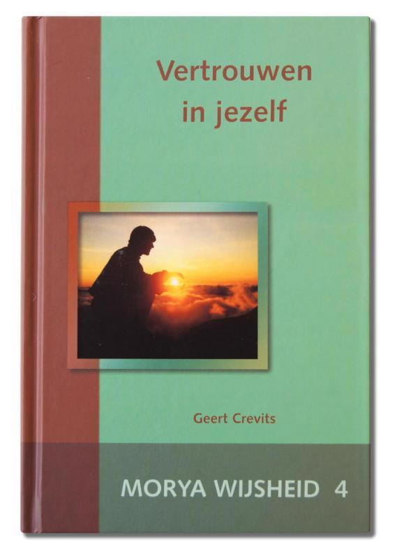 De voorkant van het boek met de titel : Vertrouwen in jezelf