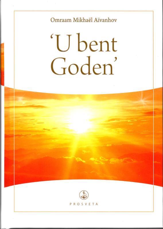 De voorkant van het boek met de titel : U bent Goden