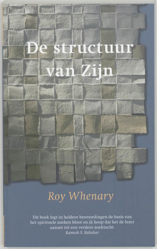 De voorkant van het boek met de titel : De structuur van zijn