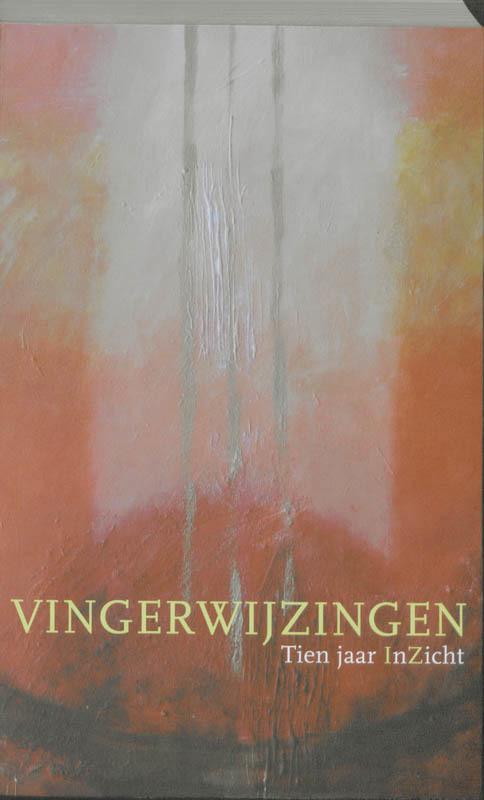 De voorkant van het boek met de titel : Vingerwijzingen