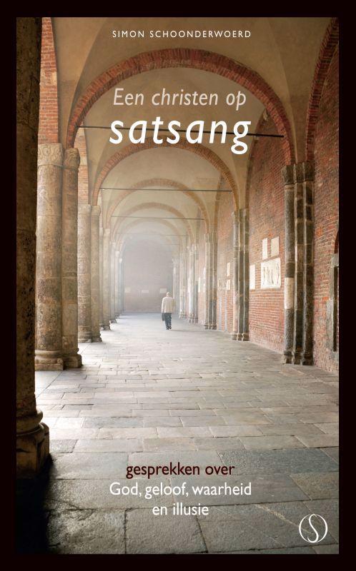 De voorkant van het boek met de titel : Een christen op satsang