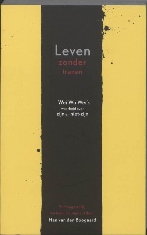 De voorkant van het boek met de titel : Leven zonder tranen