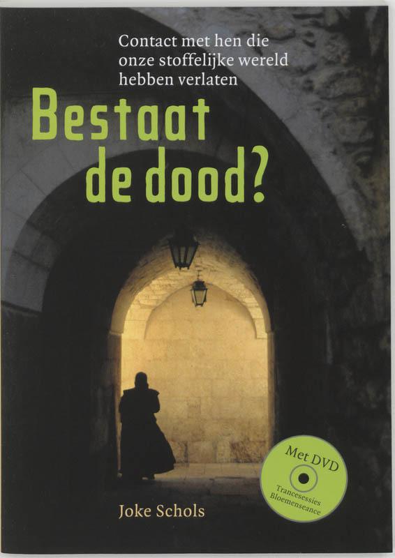 De voorkant van het boek met de titel : Bestaat de dood?