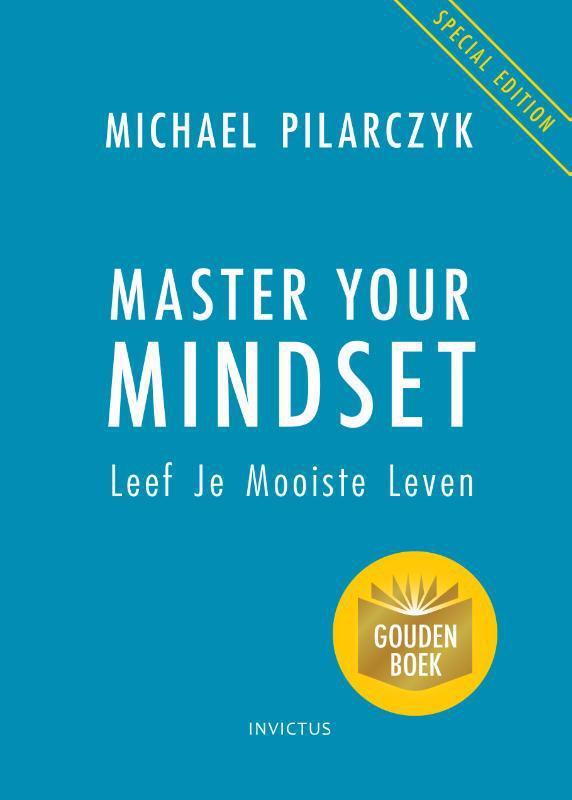 De voorkant van het boek met de titel : Master Your Mindset