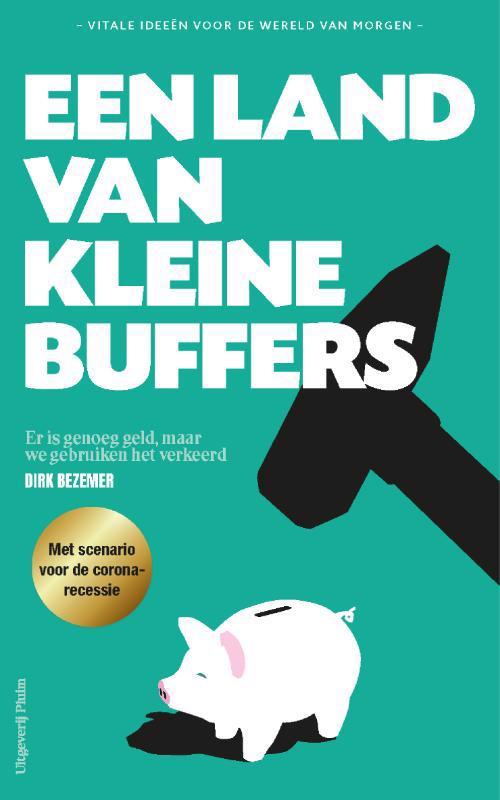 De voorkant van het boek met de titel : Een land van kleine buffers