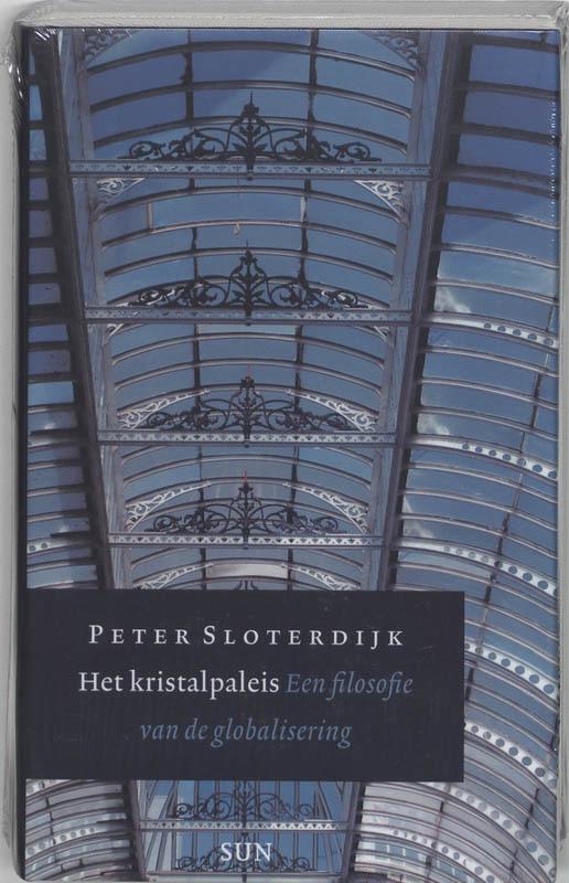 De voorkant van het boek met de titel : Het Kristalpaleis