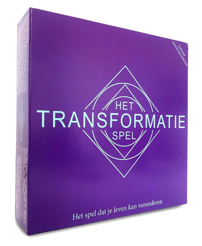 De voorkant van het boek met de titel : Het Transformatiespel