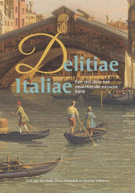 De voorkant van het boek met de titel : Delitiae Italiae