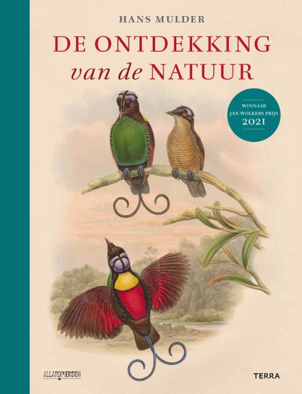 De voorkant van het boek met de titel : De ontdekking van de natuur