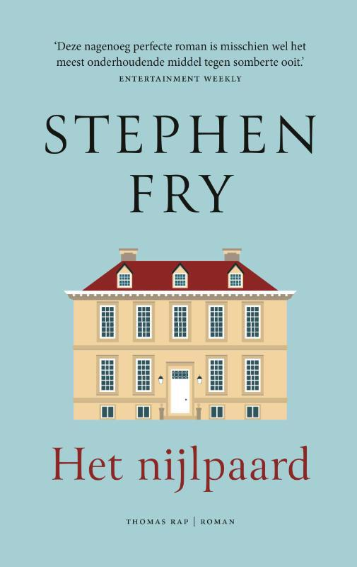 De voorkant van het boek met de titel : Het nijlpaard