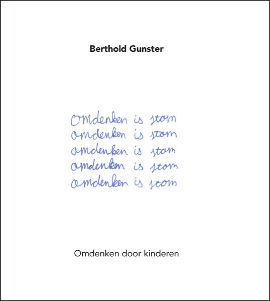 De voorkant van het boek met de titel : Omdenken is stom