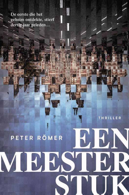 De voorkant van het boek met de titel : Een meesterstuk